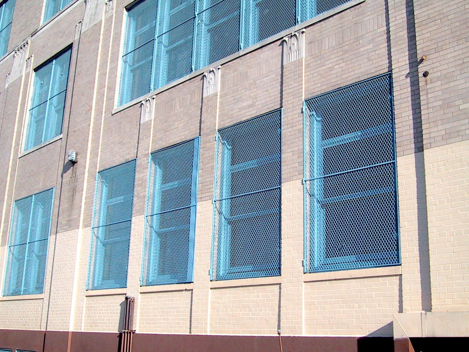 Wire mesh window guards