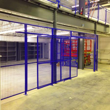 wire mesh partitions - ProGuard Series