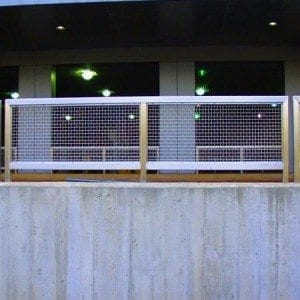 Architectural Wire Mesh Panels