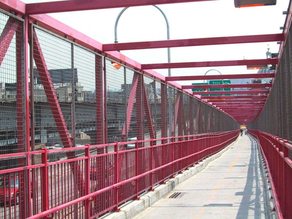 Wire Mesh Bridge Panels Newark Wire Works Inc