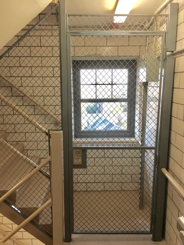 Wire Mesh Stair Enclosures Newark Wire Works Inc