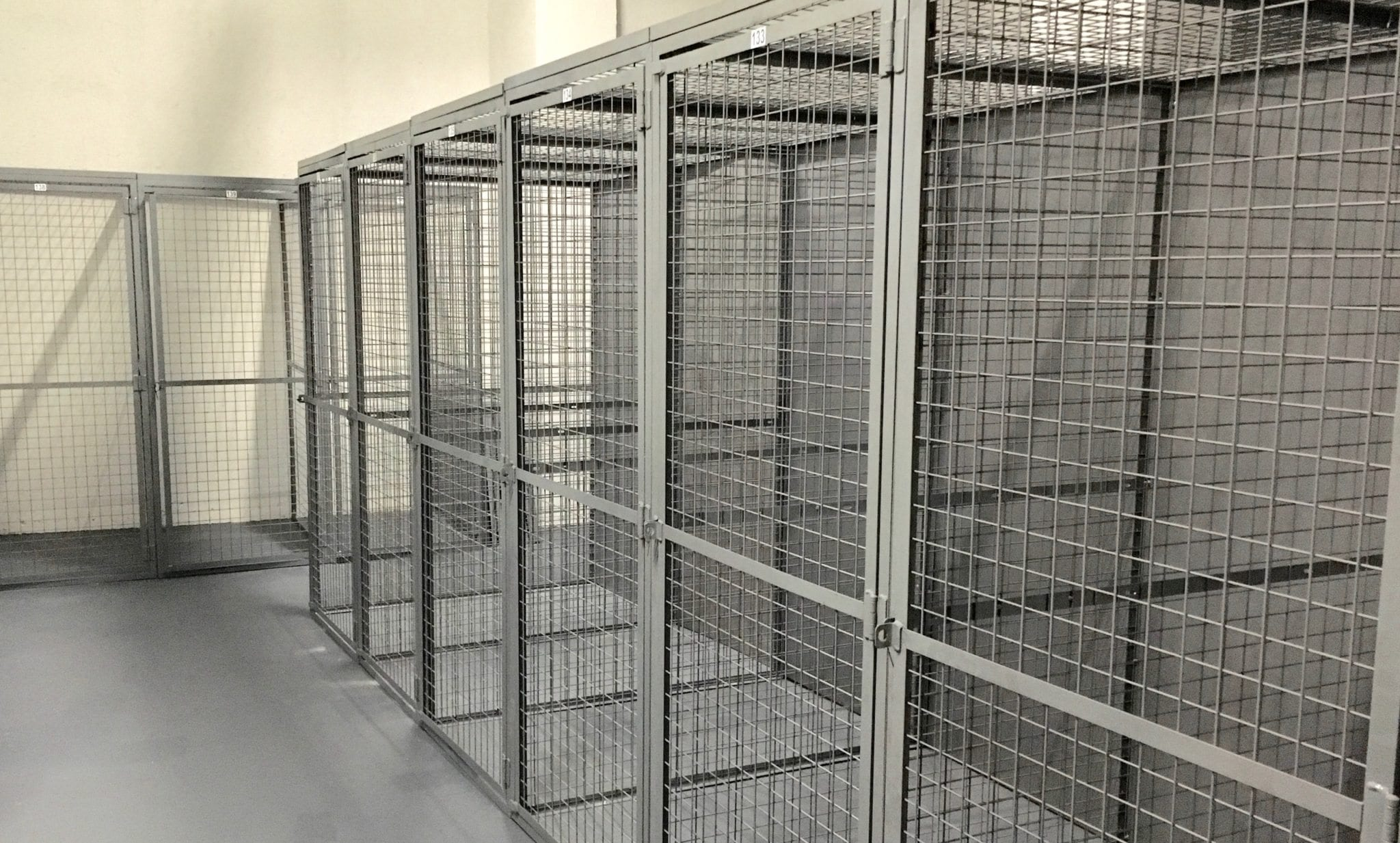 ProGuard Series Tenant Storage Lockers and Wire Partitions