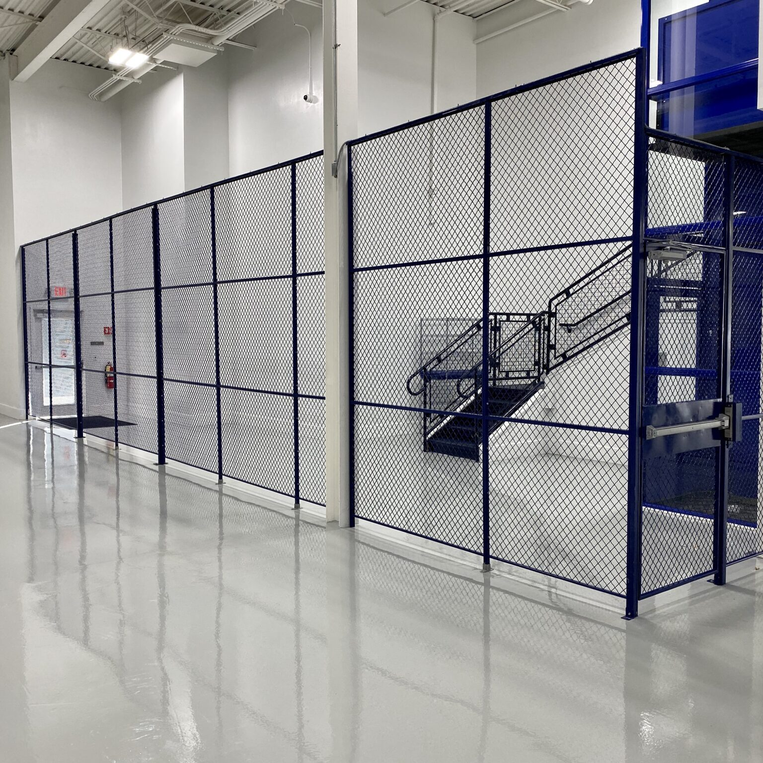 type 120 wire mesh partitions